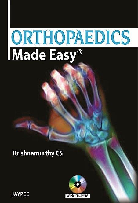 Portada del libro 9789350250426 Orthopaedics Made Easy + Cd-Rom