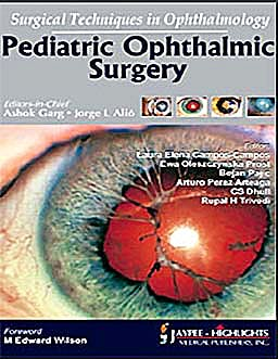 Portada del libro 9789350251485 Surgical Techniques in Ophthalmology. Pediatric Ophthalmic Surgery
