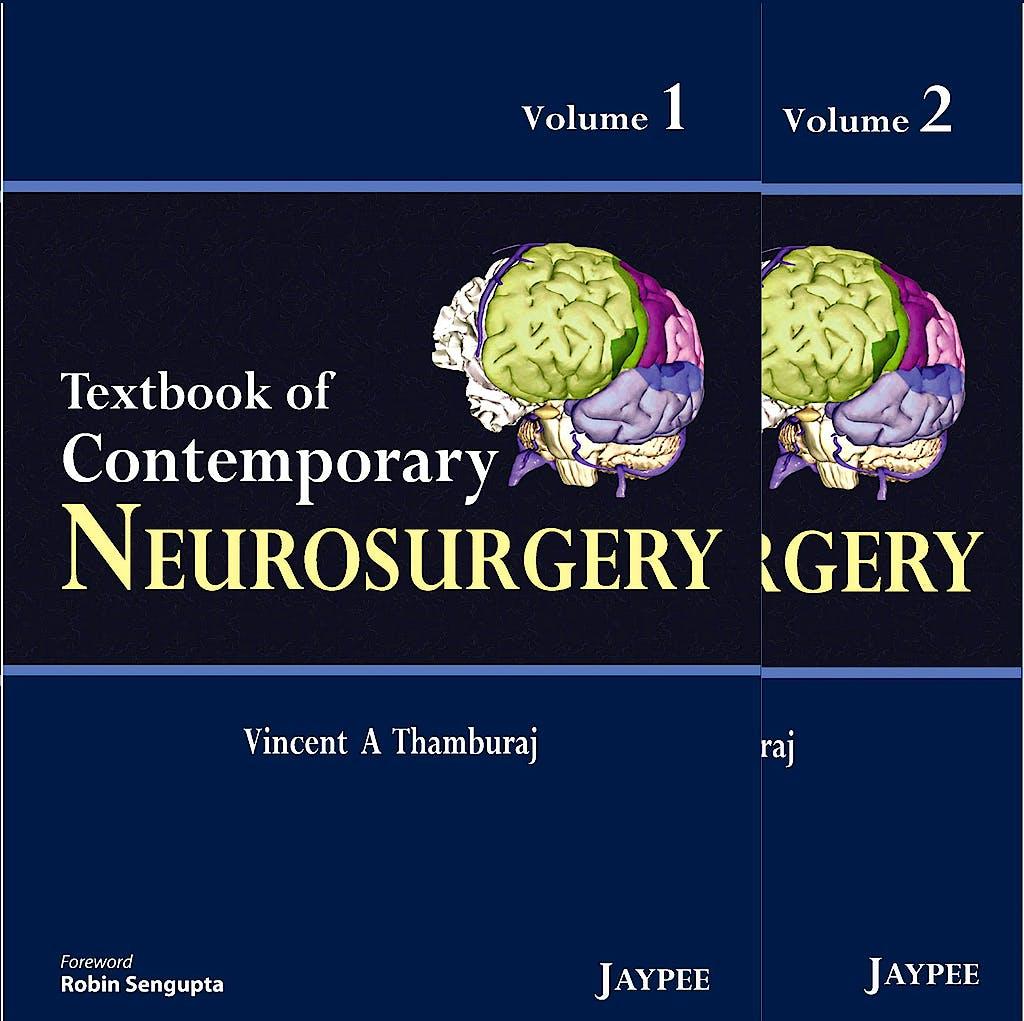 Portada del libro 9789350252390 Textbook of Contemporary Neurosurgery, 2 Vols.