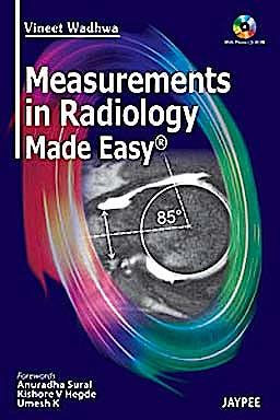 Portada del libro 9789350252642 Measurements in Radiology Made Easy