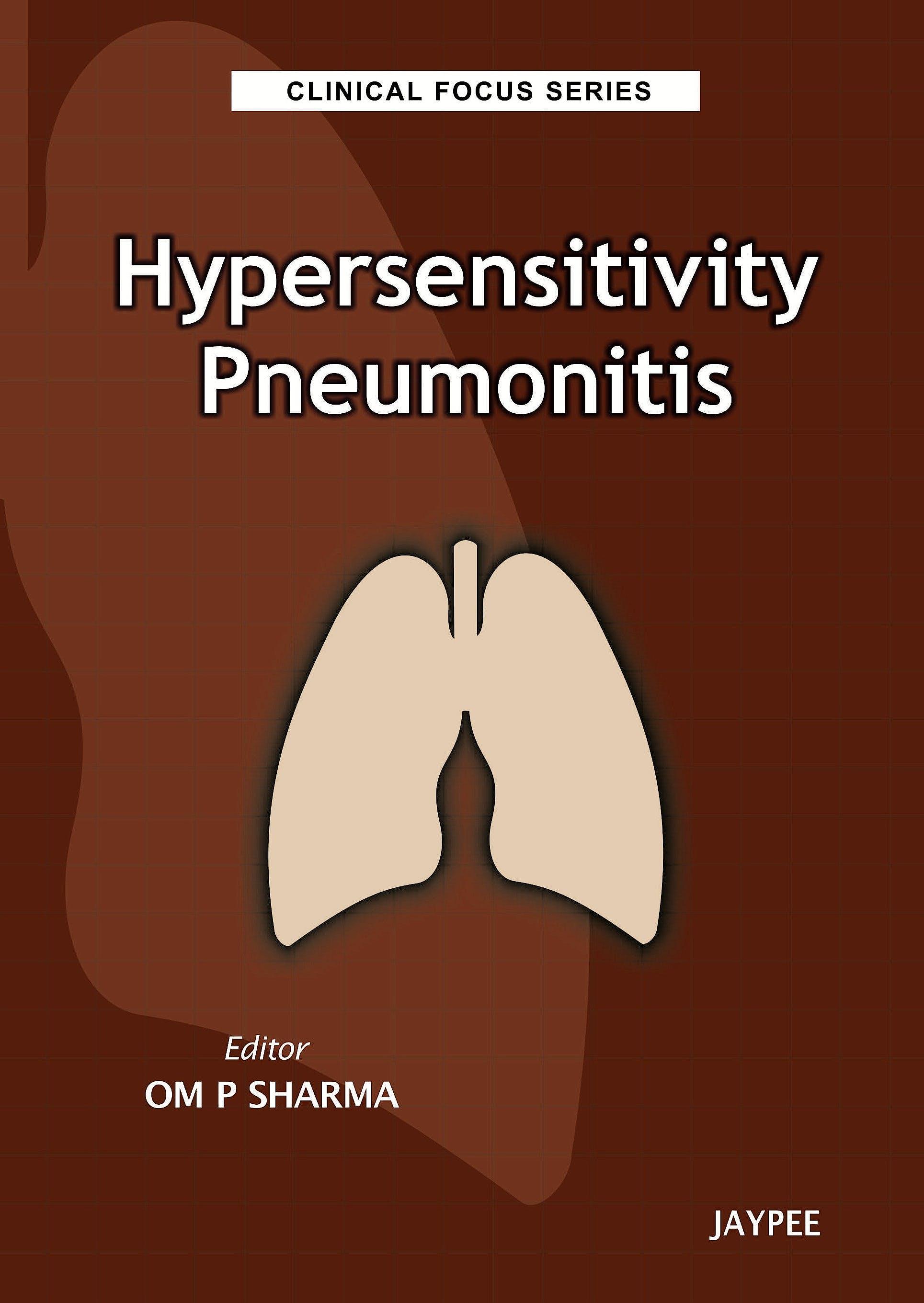 Portada del libro 9789350252697 Hypersensitivity Pneumonitis (Clinical Focus Series)