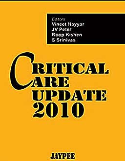 Portada del libro 9789350252710 Critical Care Update 2010