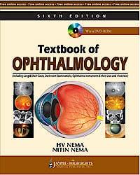 Portada del libro 9789350255070 Textbook of Ophthalmology