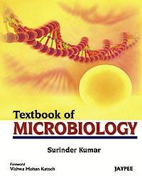 Portada del libro 9789350255100 Textbook of Microbiology