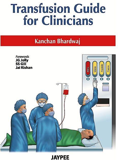 Portada del libro 9789350255551 Transfusion Guide for Clinicians