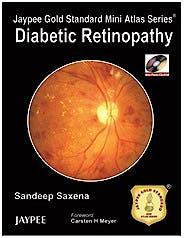 Portada del libro 9789350255810 Diabetic Retinopathy + Cd-Rom (Jaypee Gold Standard Mini Atlas Series)