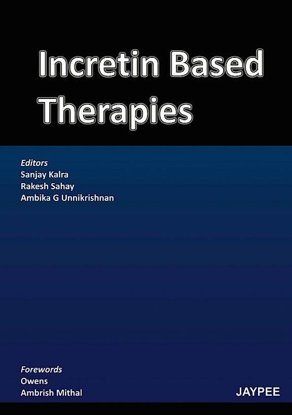 Portada del libro 9789350256480 Incretin Based Therapies