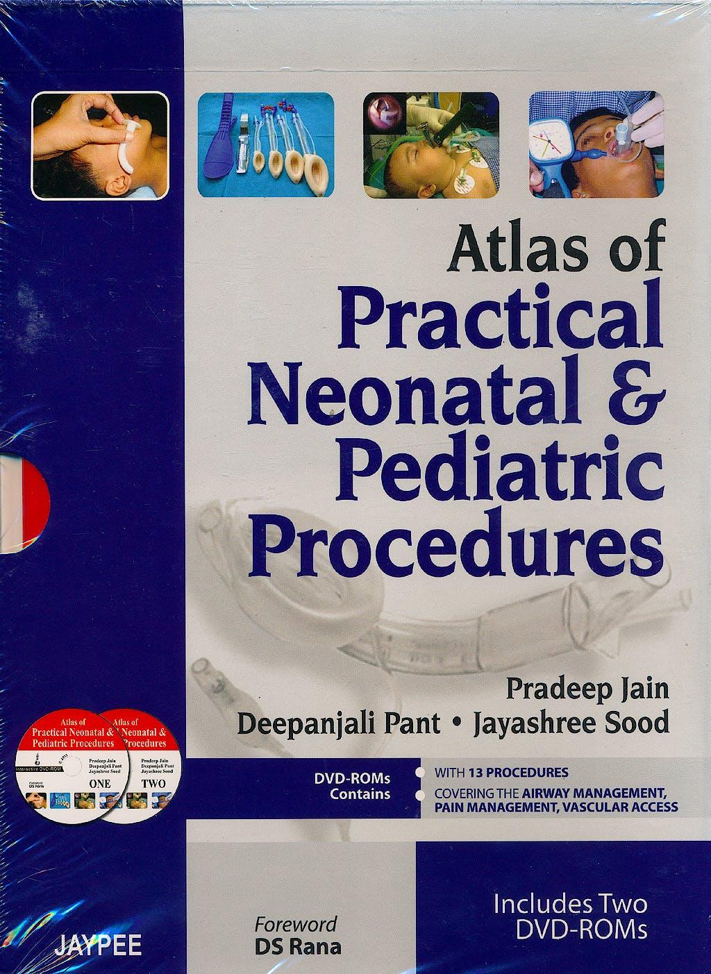 Portada del libro 9789350257722 Atlas of Practical Neonatal and Pediatric Procedures