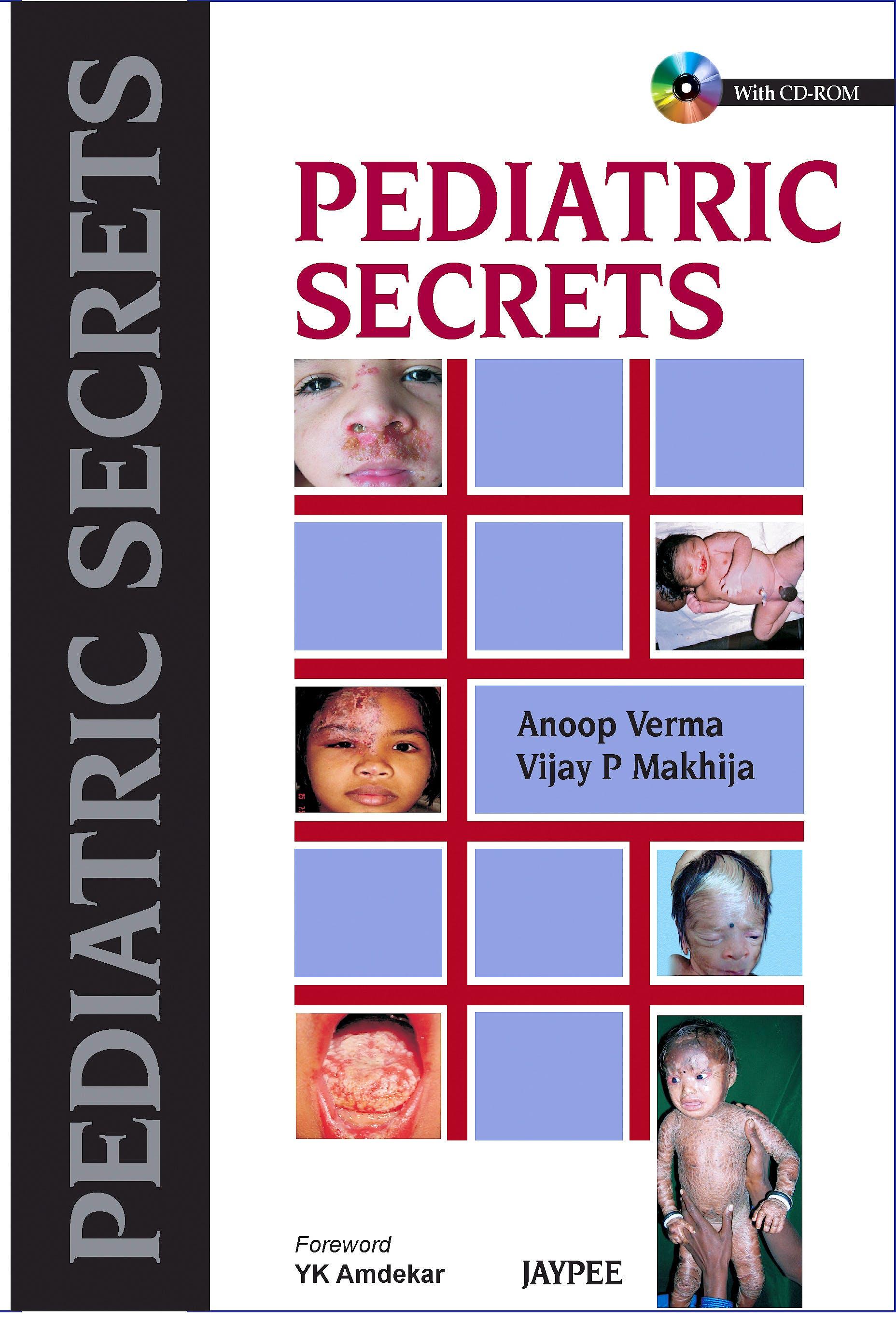 Portada del libro 9789350257753 Pediatric Secrets