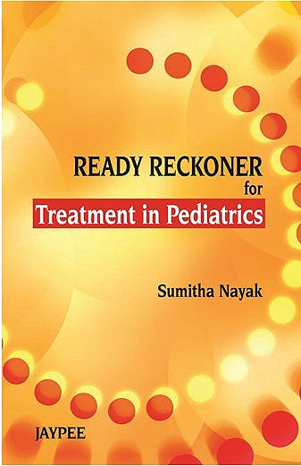 Portada del libro 9789350258040 Ready Reckoner for Treatment in Pediatrics