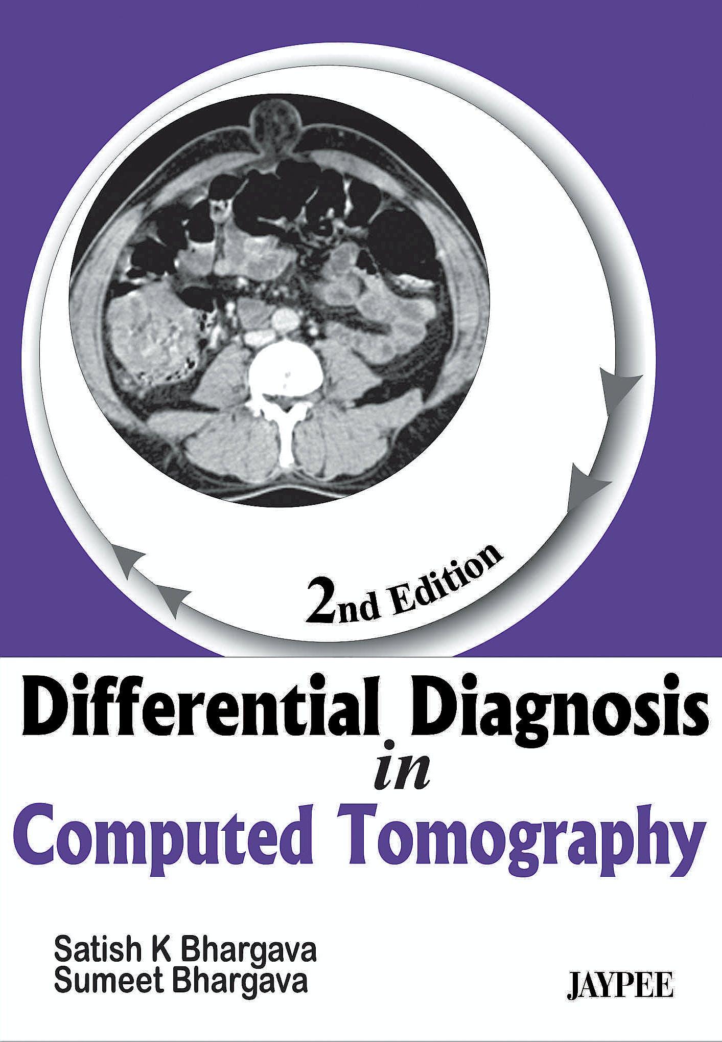 Portada del libro 9789350258125 Differential Diagnosis in Computed Tomography