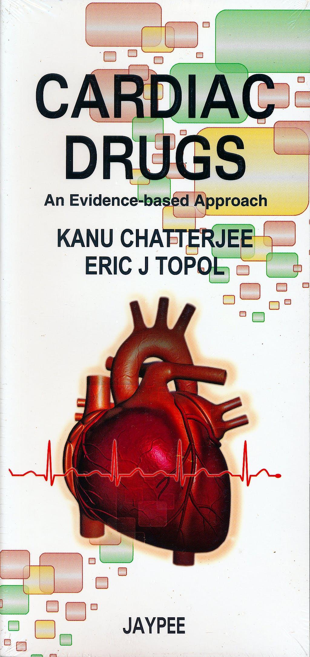 Portada del libro 9789350258798 Cardiac Drugs. an Evidence-Based Approach