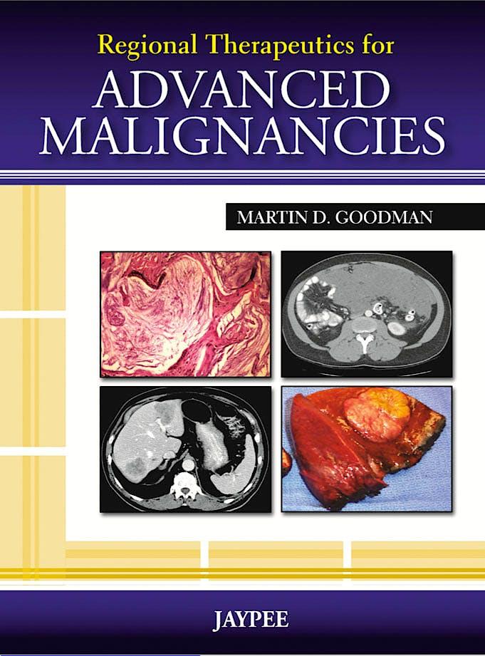 Portada del libro 9789350258873 Regional Therapeutics for Advanced Malignancies