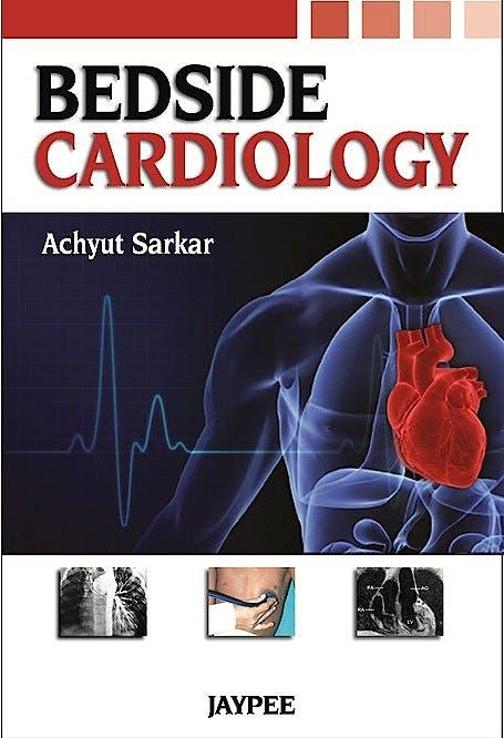 Portada del libro 9789350259856 Bedside Cardiology