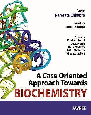 Portada del libro 9789350901885 A Case Oriented Approach towards Biochemistry