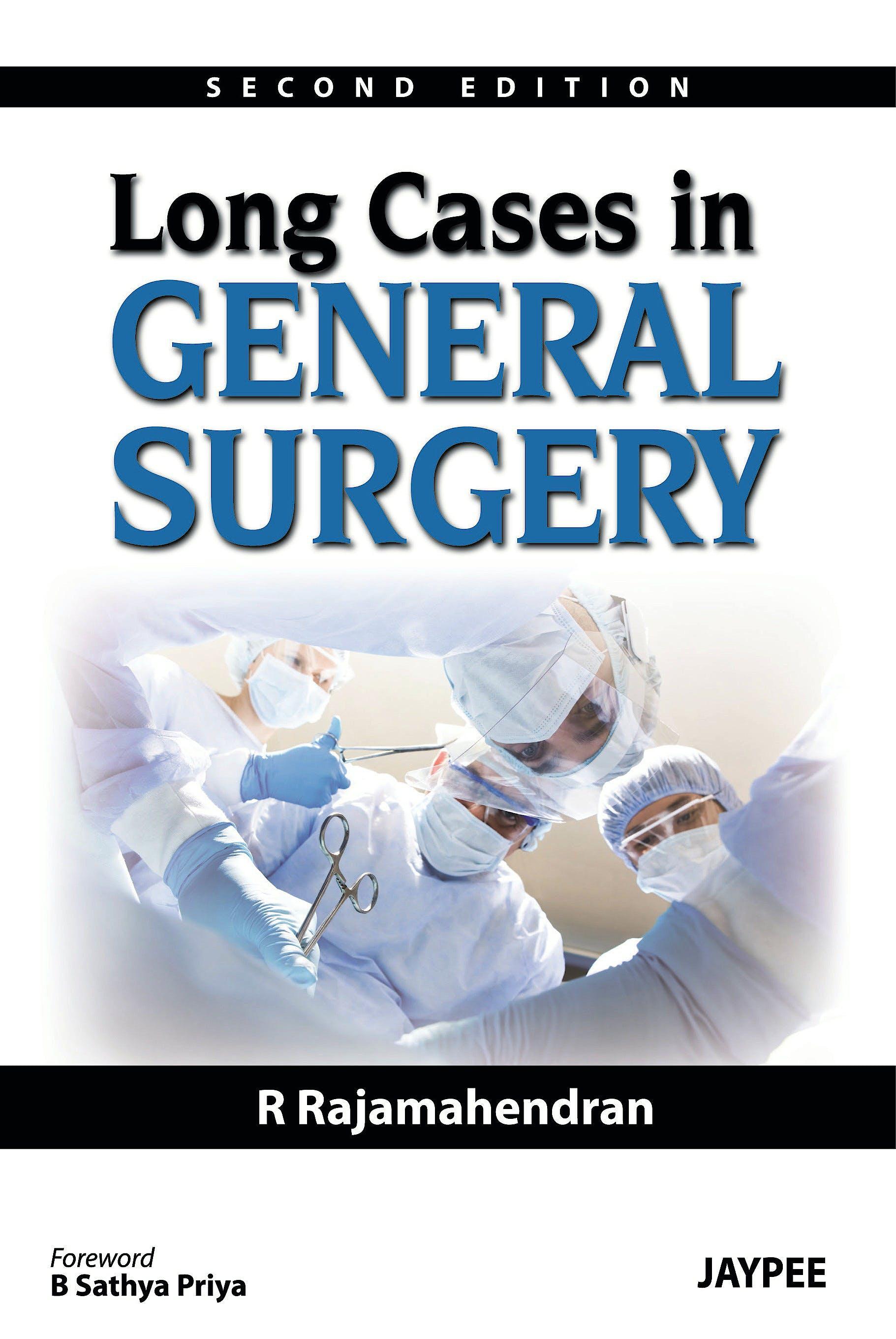 Portada del libro 9789350901908 Long Cases in General Surgery