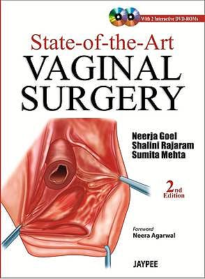 Portada del libro 9789350902875 State-of-the-Art Vaginal Surgery + 2 Dvd-Roms
