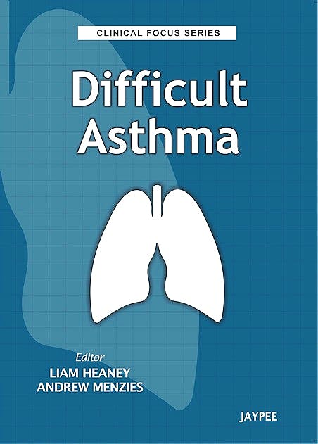 Portada del libro 9789350902998 Difficult Asthma (Clinical Focus Series)