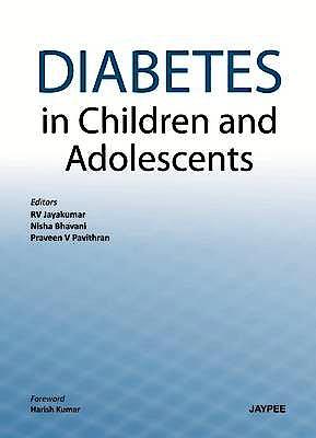 Portada del libro 9789350903001 Diabetes in Children and Adolescents