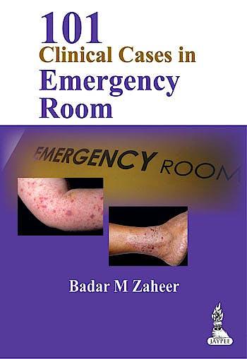 Portada del libro 9789350903032 101 Clinical Cases in Emergency Room