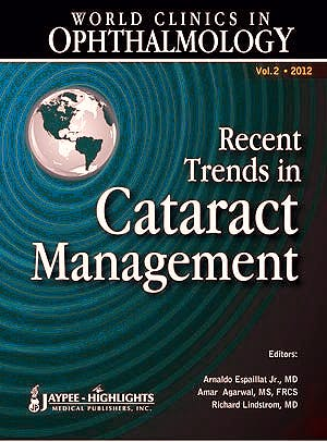 Portada del libro 9789350903193 World Clinics in Ophthalmology. Recent Trends in Cataract Management, Vol. 2
