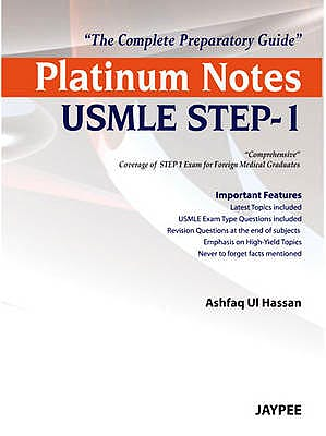 Portada del libro 9789350903414 Platinum Notes Usmle Step-1. the Complete Preparatory Guide