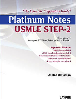 Portada del libro 9789350903421 Platinum Notes Usmle Step-2. the Complete Preparatory Guide