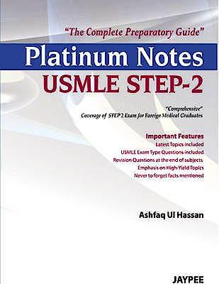 Portada del libro 9789350903421 Platinum Notes Usmle Step-2. the Complete Preparatory Guide