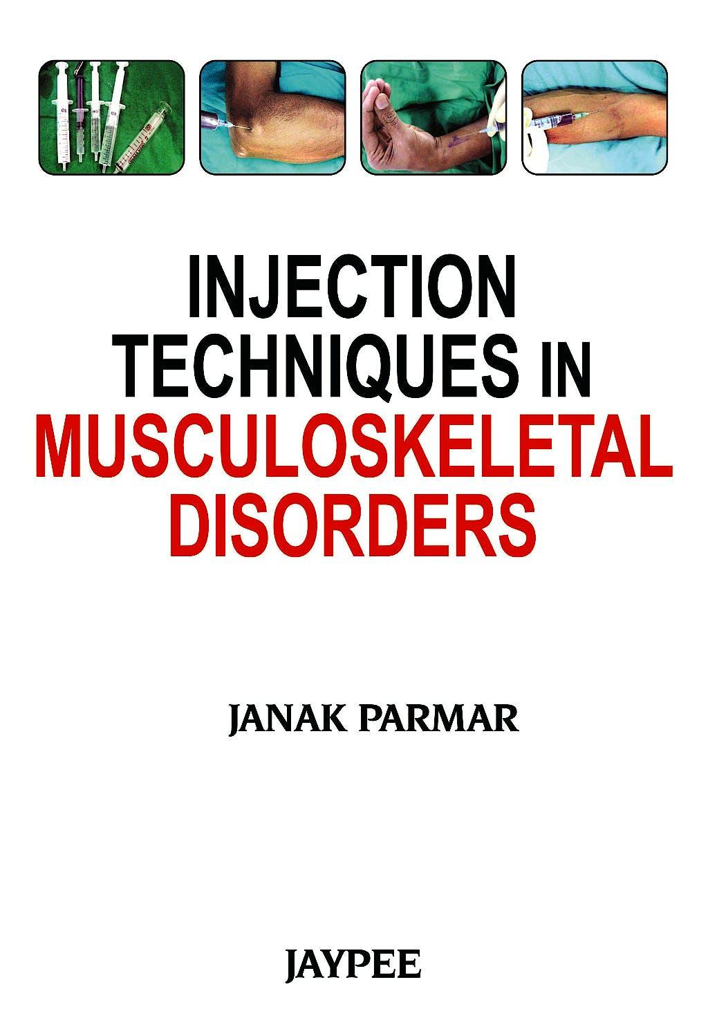 Portada del libro 9789350903445 Injection Techniques in Musculoskeletal Disorders