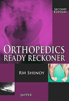 Portada del libro 9789350903605 Orthopedics Ready Reckoner