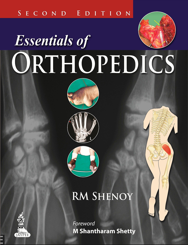 Portada del libro 9789350903735 Essentials of Orthopedics