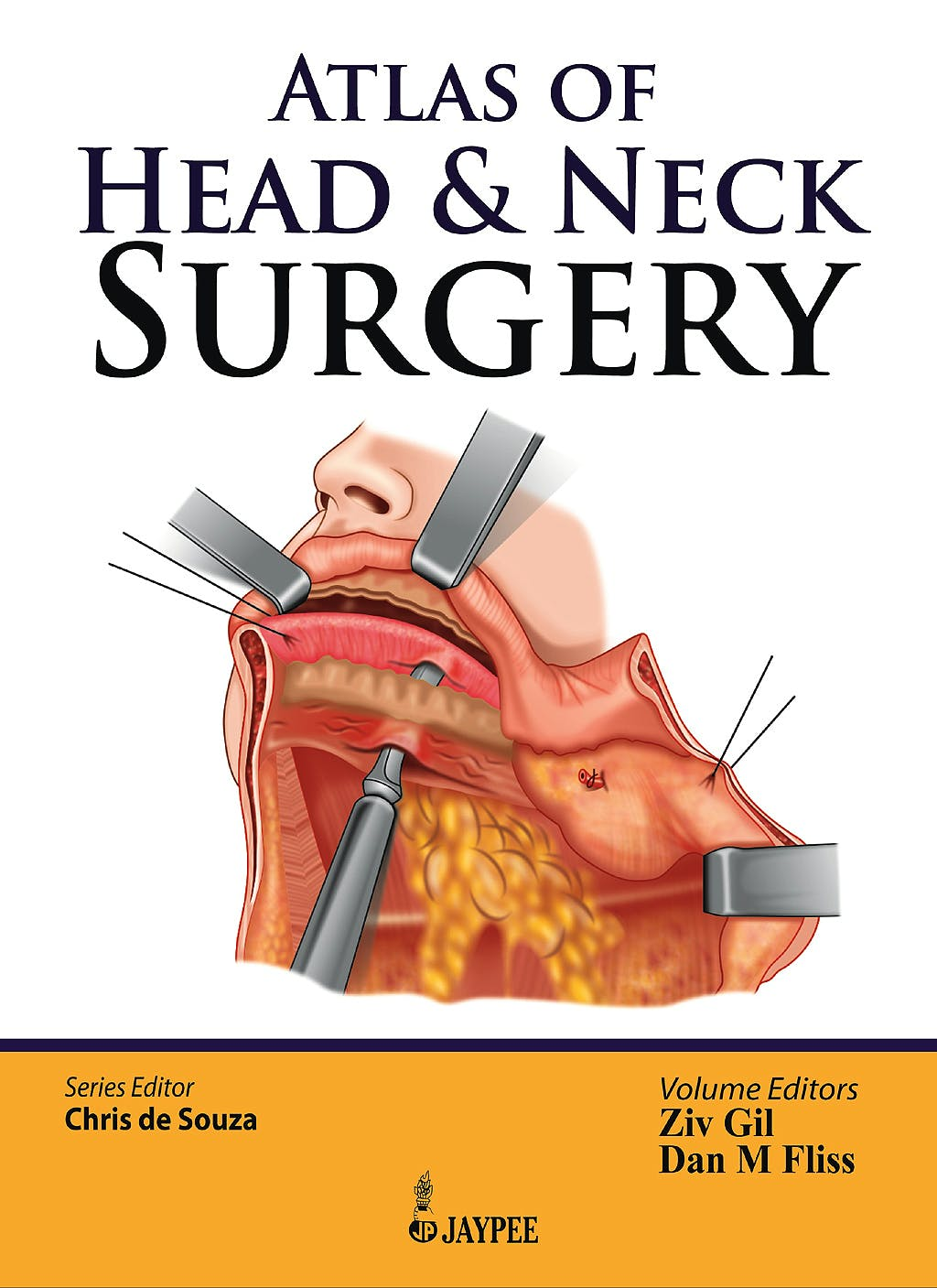 Portada del libro 9789350903803 Atlas of Head and Neck Surgery