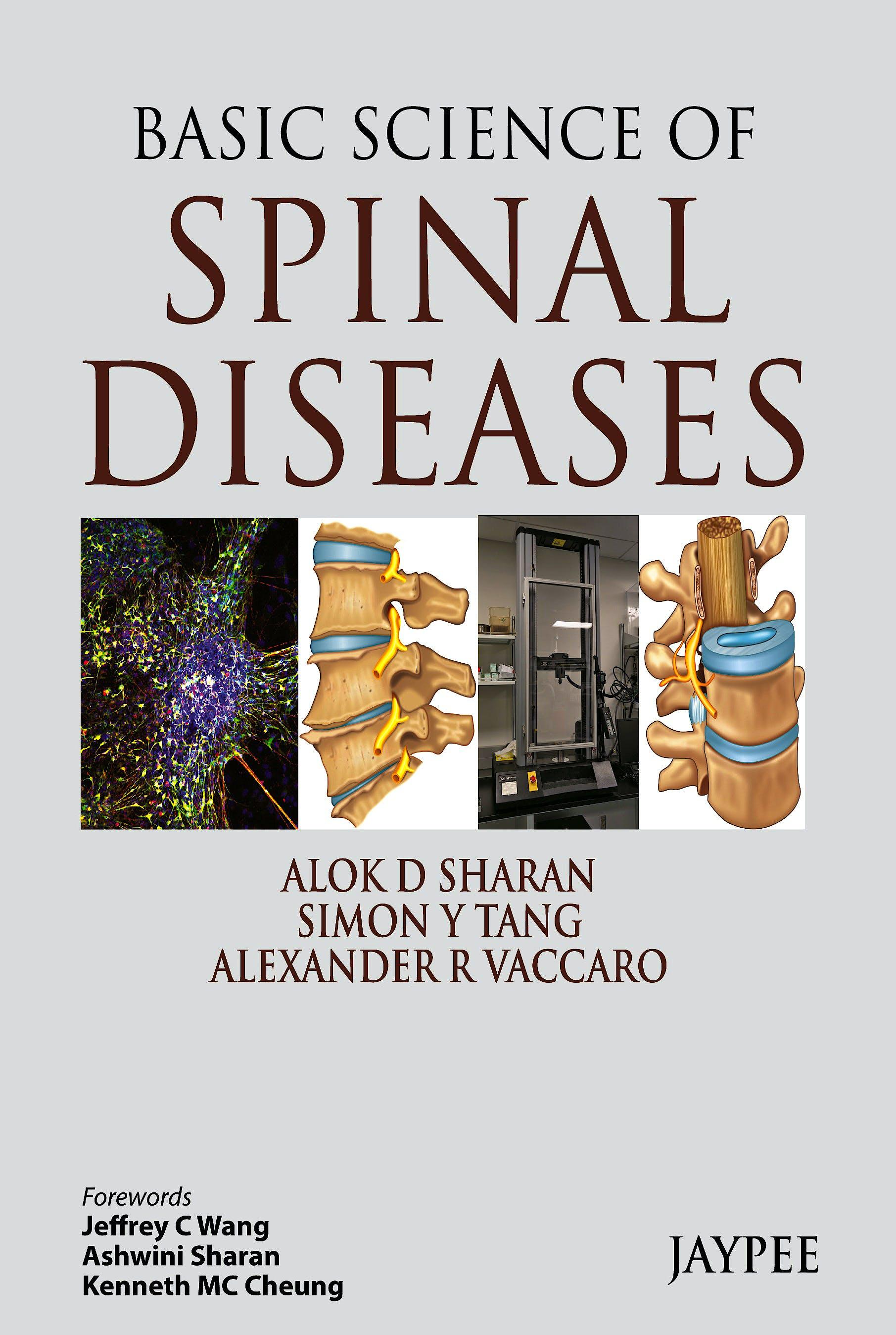 Portada del libro 9789350904695 Basic Science of Spinal Diseases