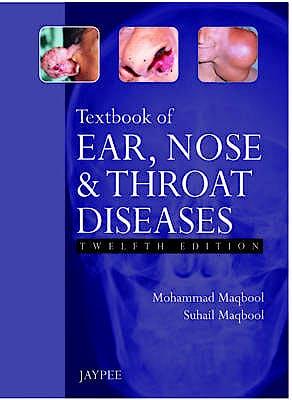 Portada del libro 9789350904954 Textbook of Ear, Nose and Throat Diseases