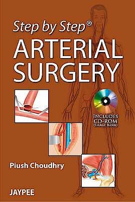 Portada del libro 9789350905104 Step by Step Arterial Surgery + Cd-Rom