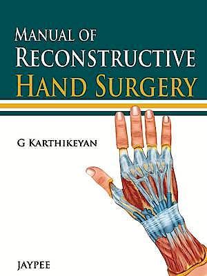 Portada del libro 9789350905128 Manual of Reconstructive Hand Surgery