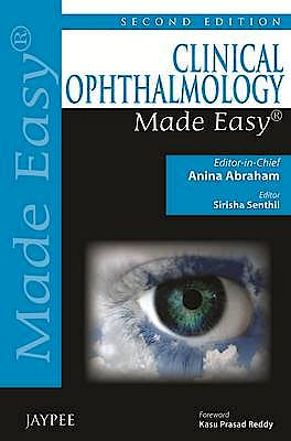 Portada del libro 9789350905180 Clinical Ophthalmology Made Easy