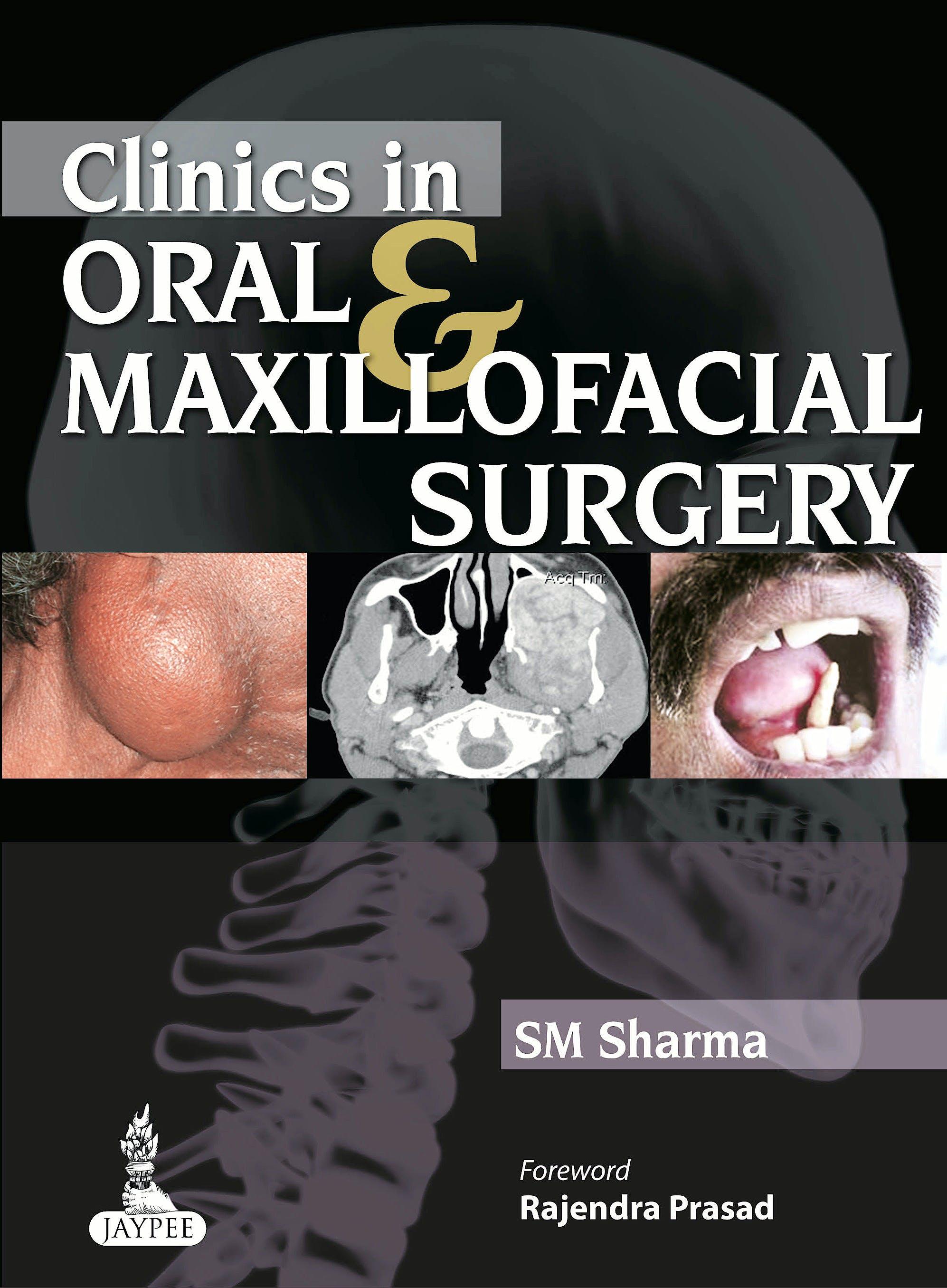 Portada del libro 9789350906156 Clinics in Oral and Maxillofacial Surgery