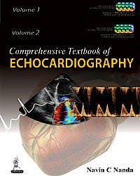 Portada del libro 9789350906347 Comprehensive Textbook of Echocardiography, 2 Vols. + 6 DVDs