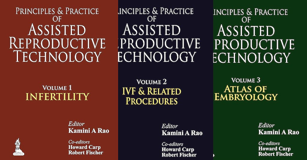 Portada del libro 9789350907368 Principles and Practice of Assisted Reproductive Technology, 3 Vols.