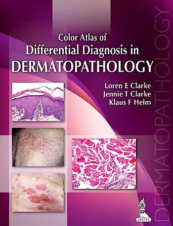 Portada del libro 9789350908457 Color Atlas of Differential Diagnosis in Dermatopathology