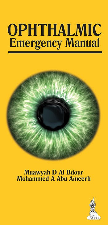 Portada del libro 9789350909881 Ophthalmic Emergency Manual