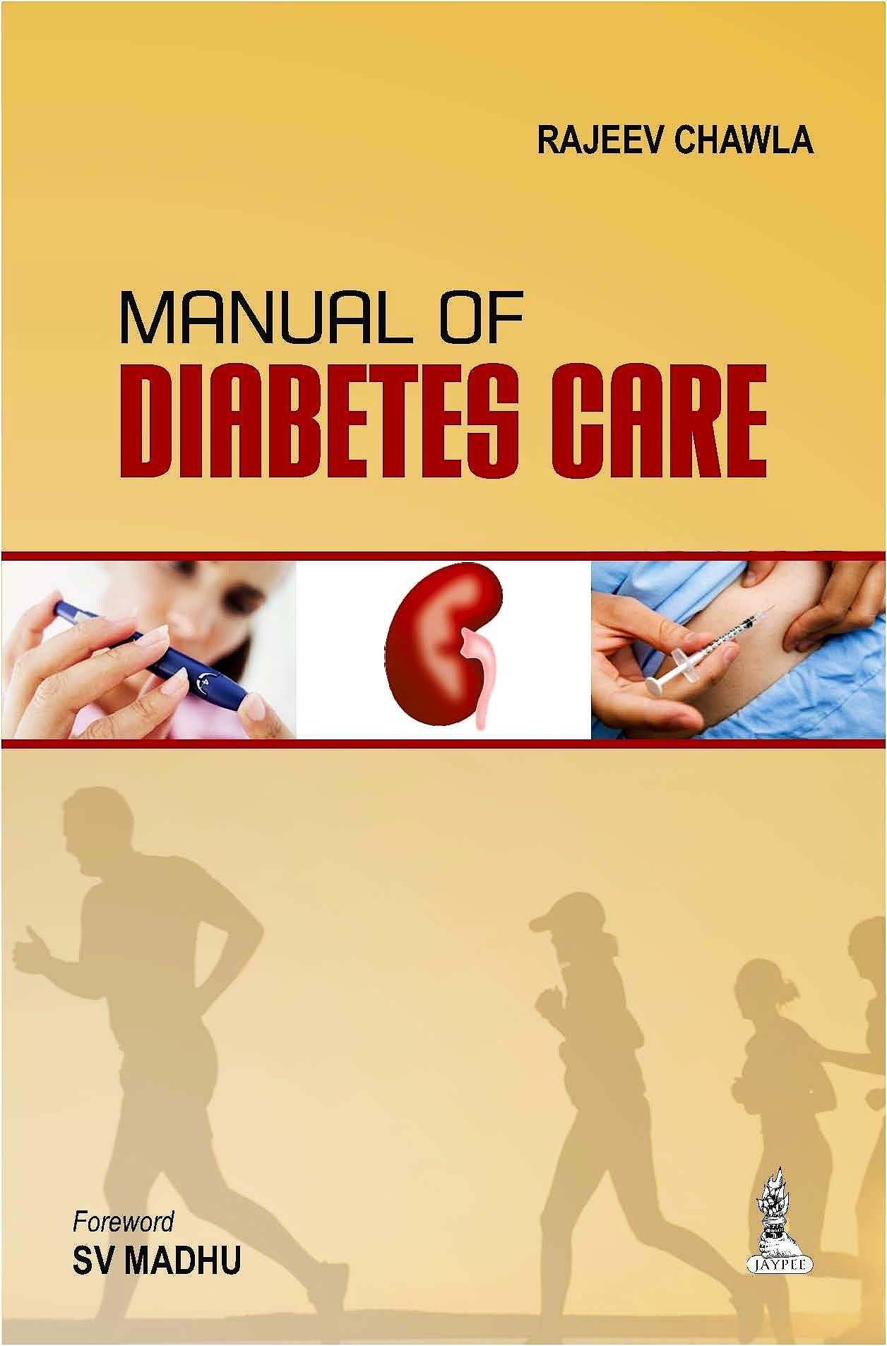Portada del libro 9789351520047 Manual of Diabetes Care