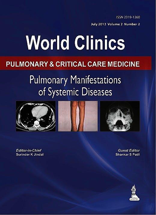 Portada del libro 9789351520054 World Clinics Pulmonary and Critical Care Medicine. Pulmonary Manifestations of the Systemic Diseases