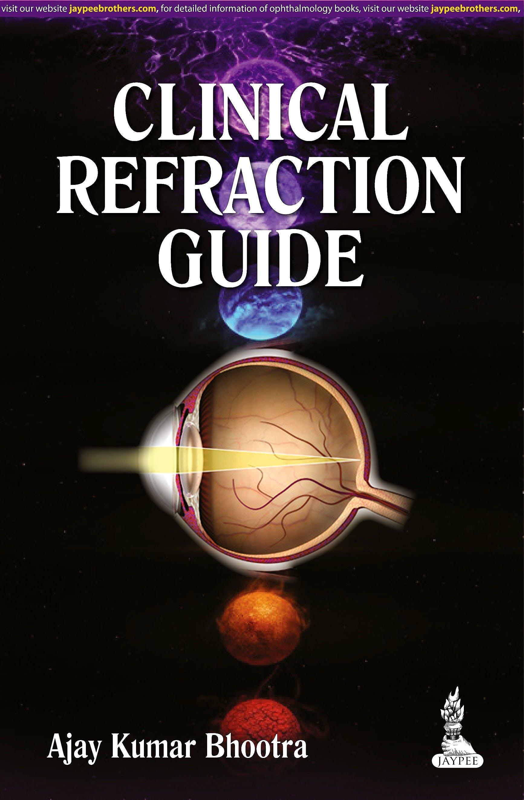 Portada del libro 9789351520634 Clinical Refraction Guide