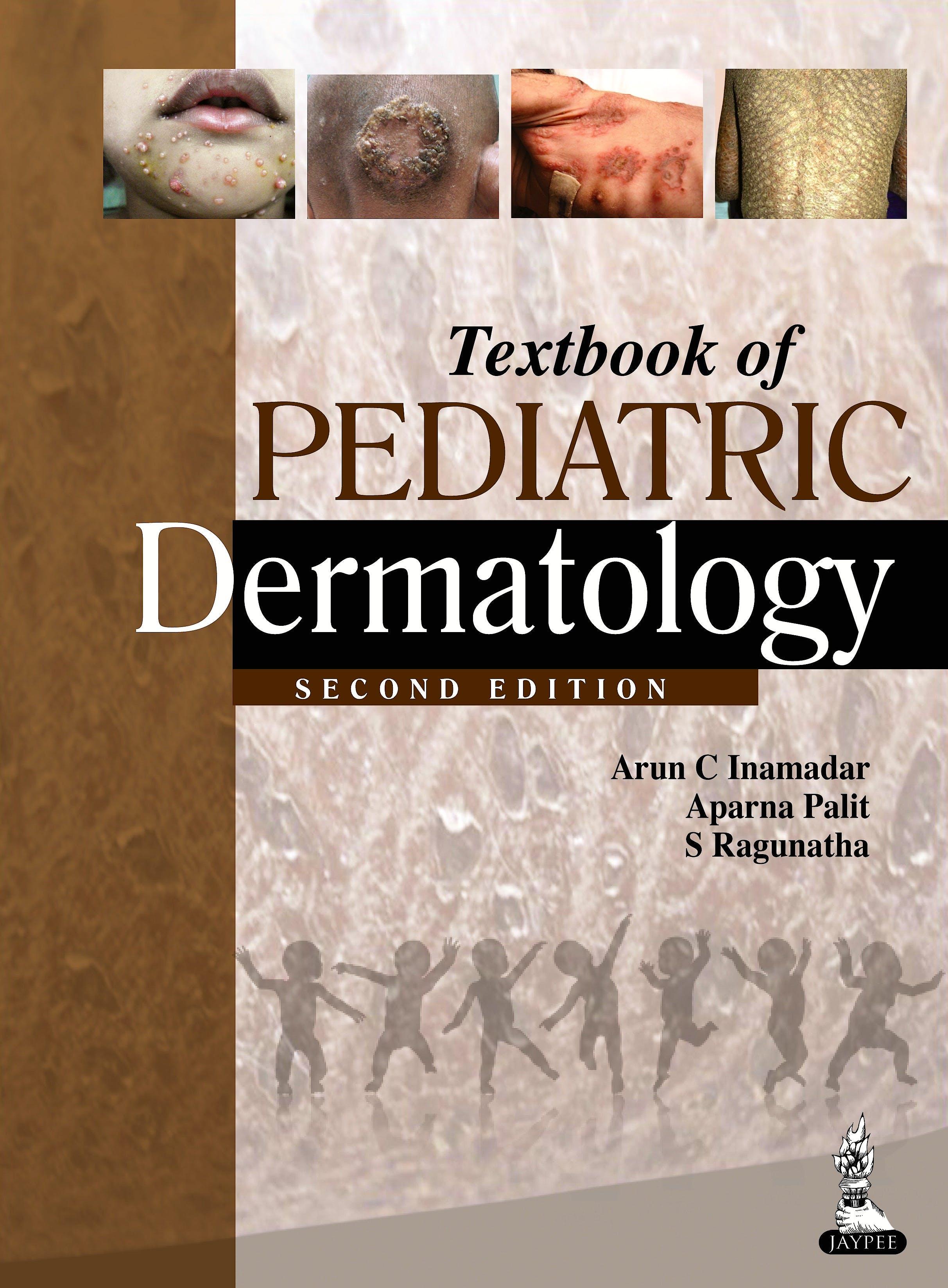 Portada del libro 9789351520832 Textbook of Pediatric Dermatology