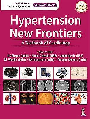 Portada del libro 9789351521099 Hypertension. New Frontiers