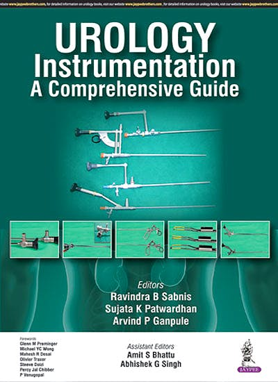 Portada del libro 9789351521815 Urology Instrumentation. a Comprehensive Guide