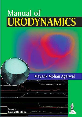 Portada del libro 9789351521877 Manual of Urodynamics