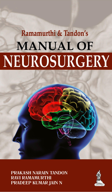 Portada del libro 9789351521921 Manual of Neurosurgery, 2 Vols.